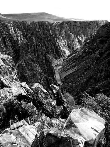 blackandwhite rural river colorado canyon erosion blackcanyonofthegunnison blackcanyonofthegunnisonnationalpark gunnisonriver montrosecolorado