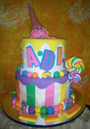 Candy Cake from Sugar Belle by Suzanne Tan Dionio