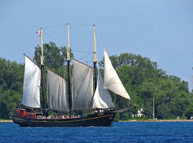 Kajama, Parade of Sails, Redpath Waterfront Festival, Toronto, ON