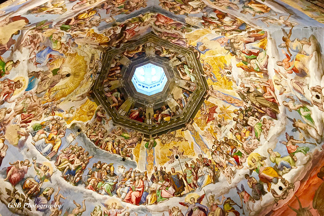 Florence Cathedral Dome Interior