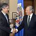 Secretary General Receives Ecuadorian Opposition Leader