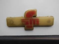 Badge FSM sur FIAT 126
