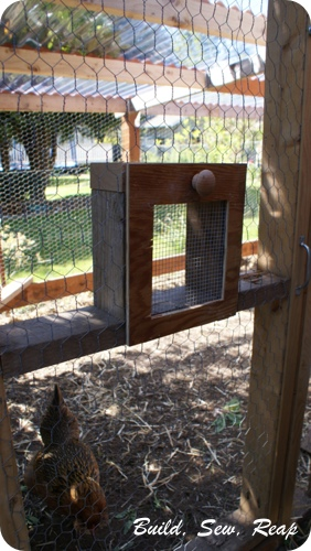 Chicken Treat Door1
