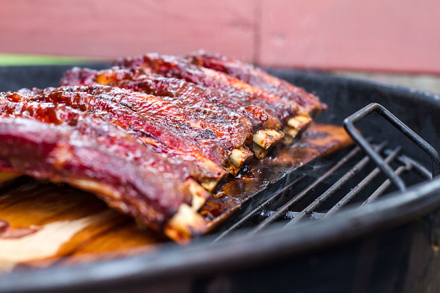 Planked Beef Ribs