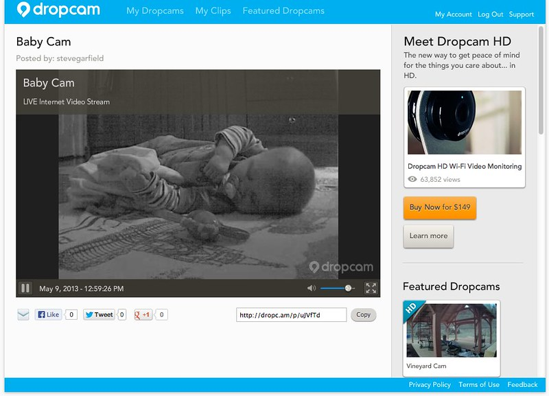 Baby Cam | Dropcam