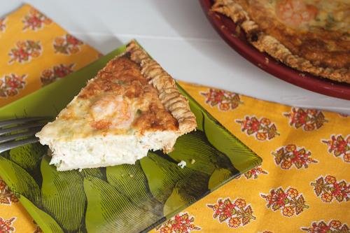Seafood Quiche #SundaySupper