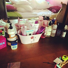 I may have just a bit much ... Lol :) #beauty #bathandbodyworks #vspink