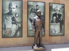 Statue of Jerry Coleman at Petco Park