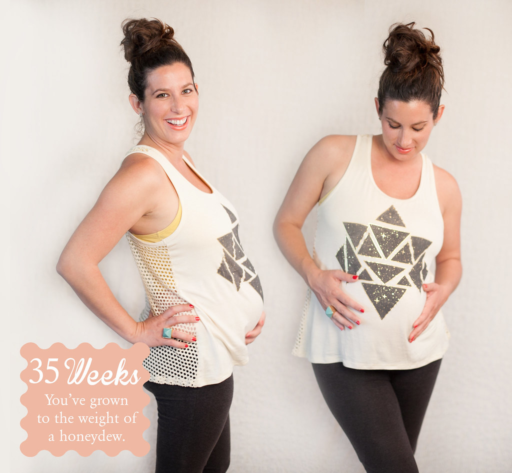 The Maternity Series: 35 weeks