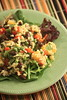 quinoa salad with black beans and mango by Paige MacKenzie