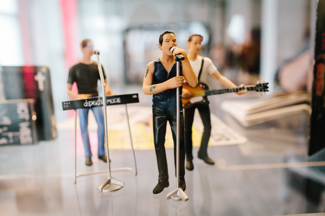 Depeche Mode Fan Exhibition figurines