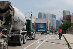 vehicle, transport, concrete mixer,