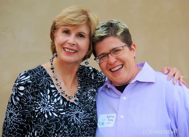 Debra Lee Baldwin and Katie Young