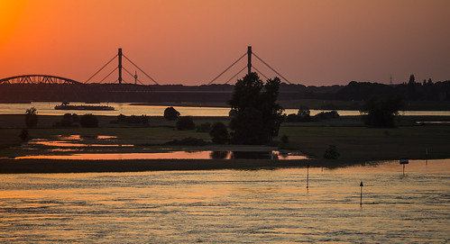 sundown above high water