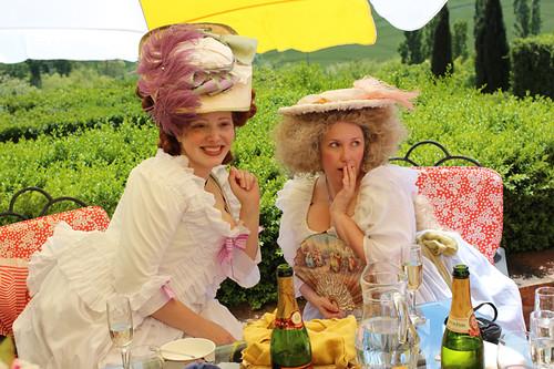 Mrs. Meringue & Mrs. Marshmallow: Kendra & Sarah