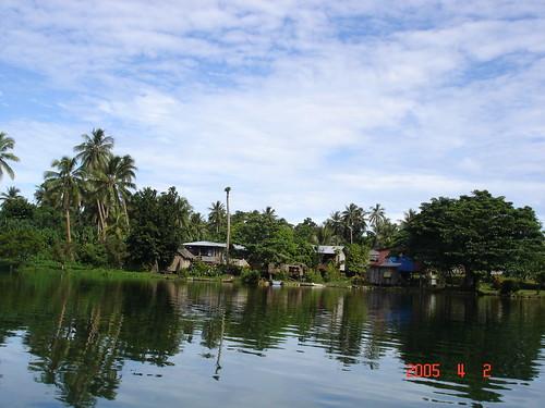倫內爾島的潟湖(圖片來源:UNESCO,S. A. Tabbasum攝影)