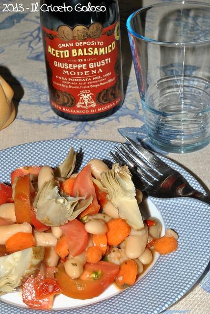 Fagioli pomodori carote carciofini origano peperoni secchi (2)