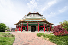 This pagoda is now a restaurant