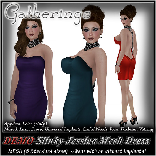 Mesh Slinky Jessica Dress DEMO by Stacia Zabaleta