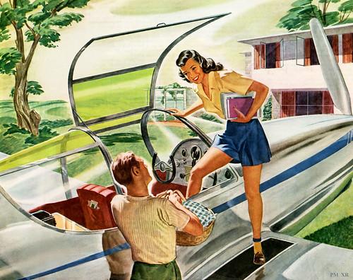1946 ... everbody flys!