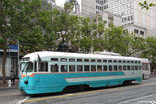 Tram on Market Street, San Francisco