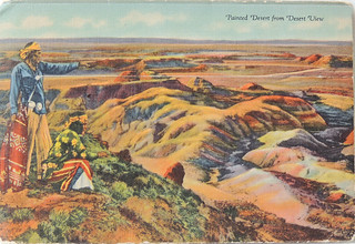 Painted Desert from 'Desert view'