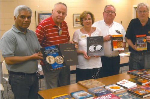 Indiana coin club donates books