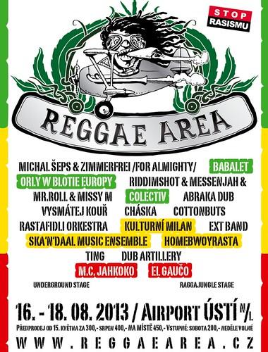 reggae area poster 2013