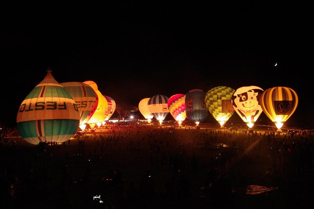 熱氣球之飛碟降臨