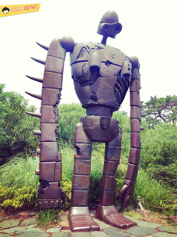 Ghibli Museum Mitaka, Japan - robot from Laputa Castle in the Sky