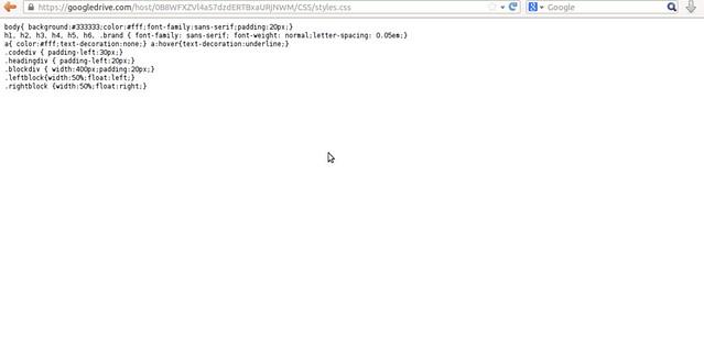 Google Drive as free CDN to your website by Anil Kumar Panigrahi - Screen 18
