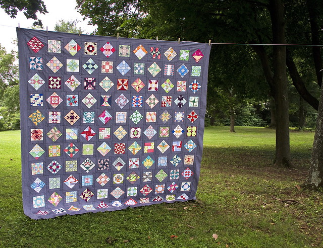 Farmer's Wife quilt top