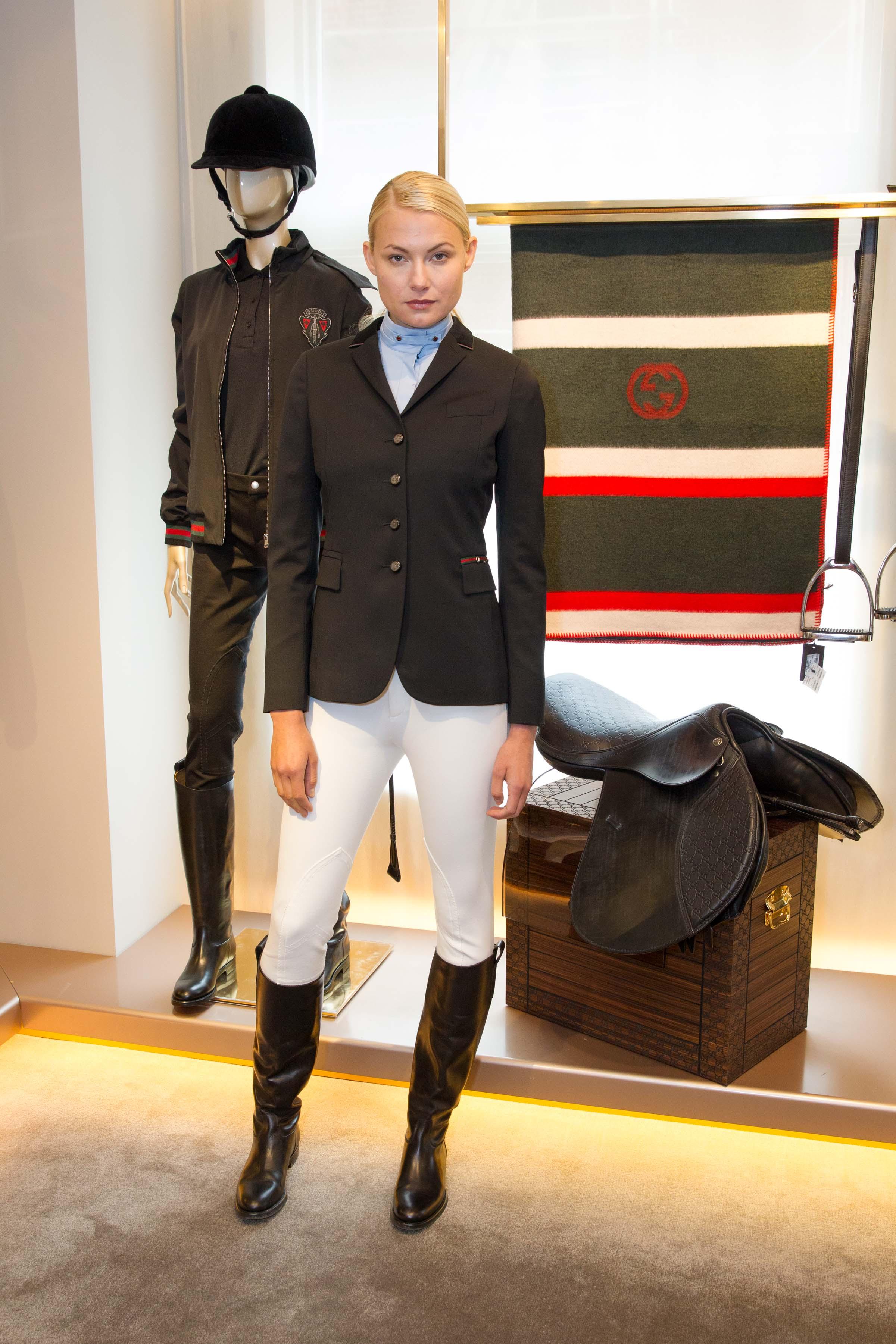 Gucci Equestrian Collection Shown In Sf