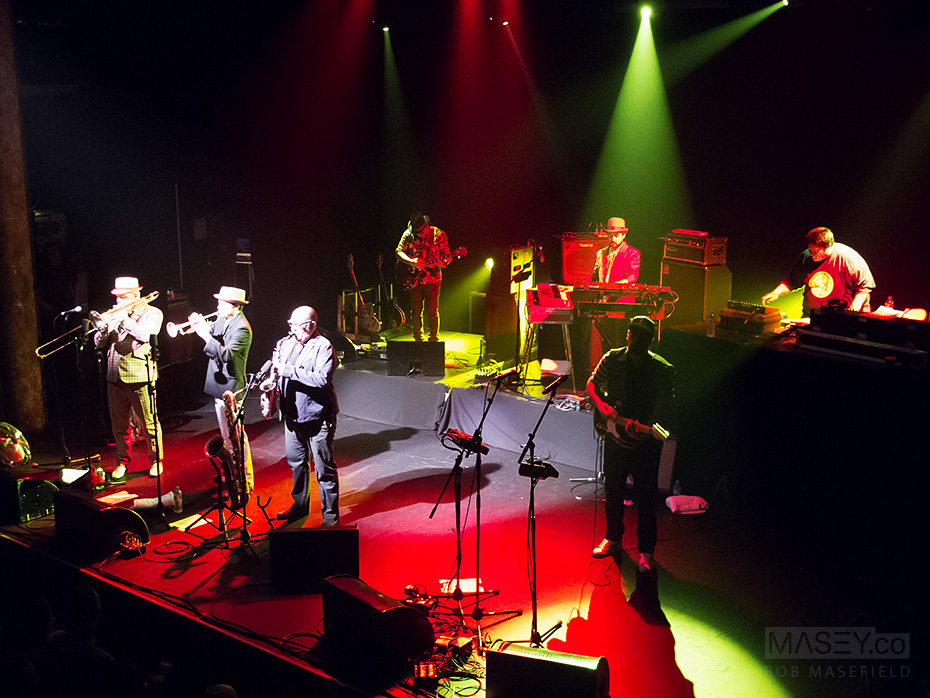 'Fat Freddy's Drop' play to a sell out Tivoli crowd.