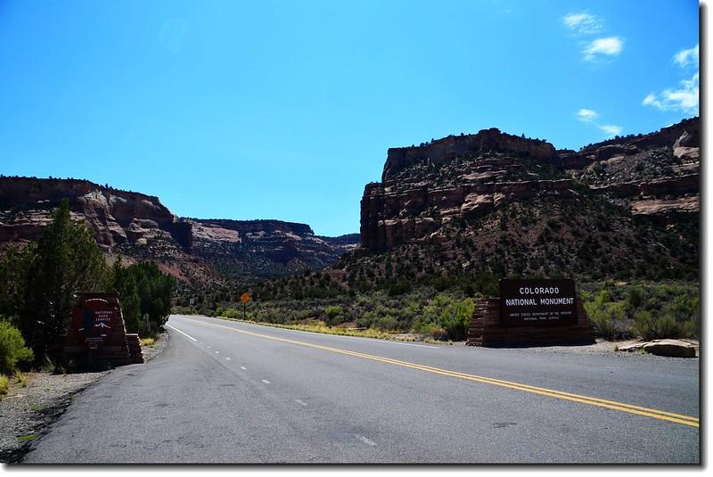 Colorado National Monument 西入口 4
