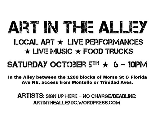 Art in the Alley Oct 2013