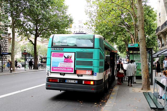 Photo - Bus 351 paris ...