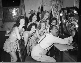 Don Nicol, and Ballet, Theatre Royal, Sydney, 30 January 1946 / Sam Hood
