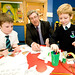O'Dowd hails 'outstanding' St Ita's PS, Carryduff, Belfast, 25 September 2013
