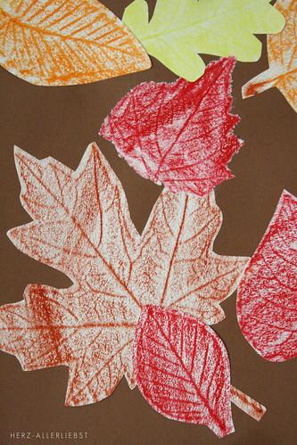 Kleiner Herbstbastelei