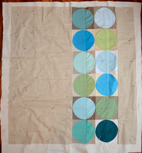 Cycles 2 - quilting in progress
