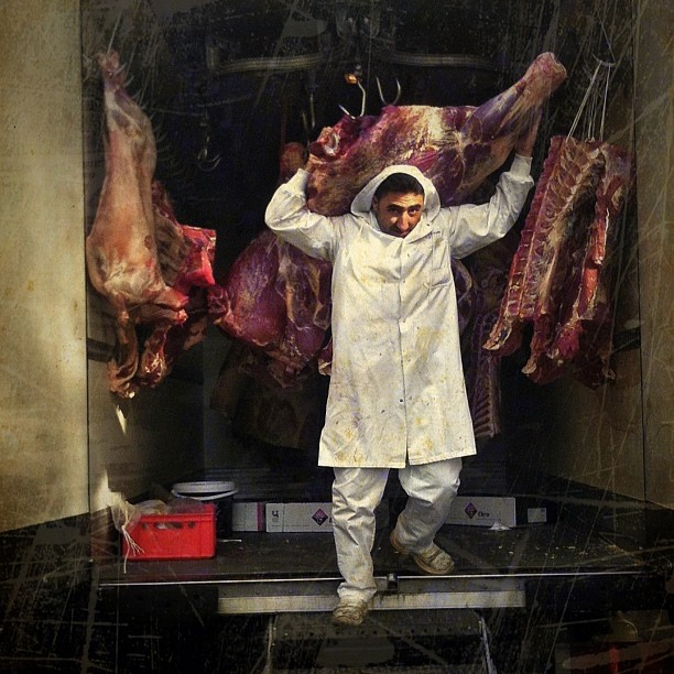 The Butcher of Bruxelles. #brussels #iphoneography #mobilephotography