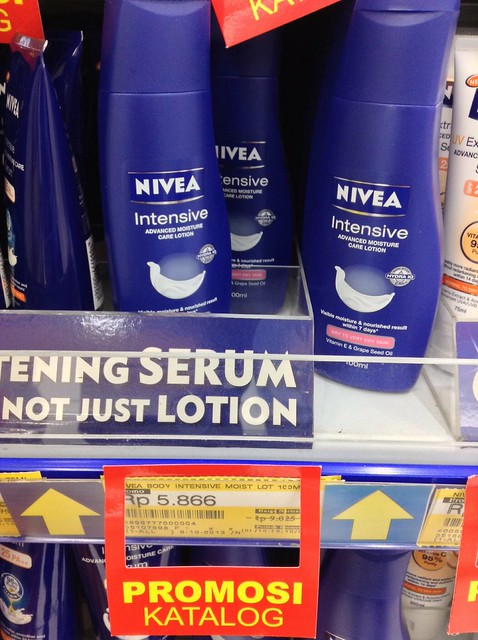 NIVEA body lotion IDR 5866