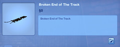 Broken End of the Track