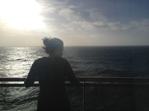 Jenna, at sea