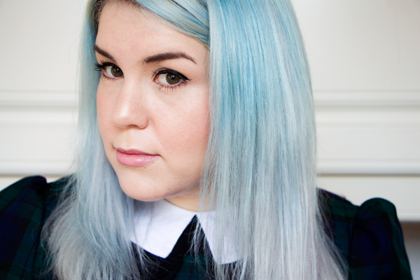 Sparklyvodka Bleach London Parma Violets Hair Update
