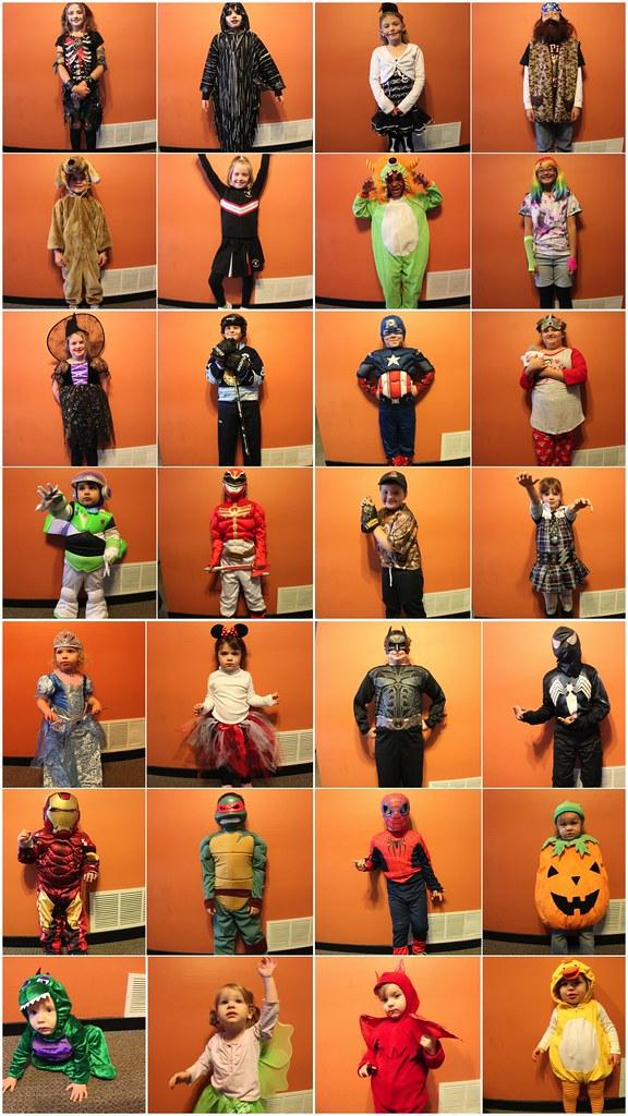 Kid's Halloween Costume - Pose