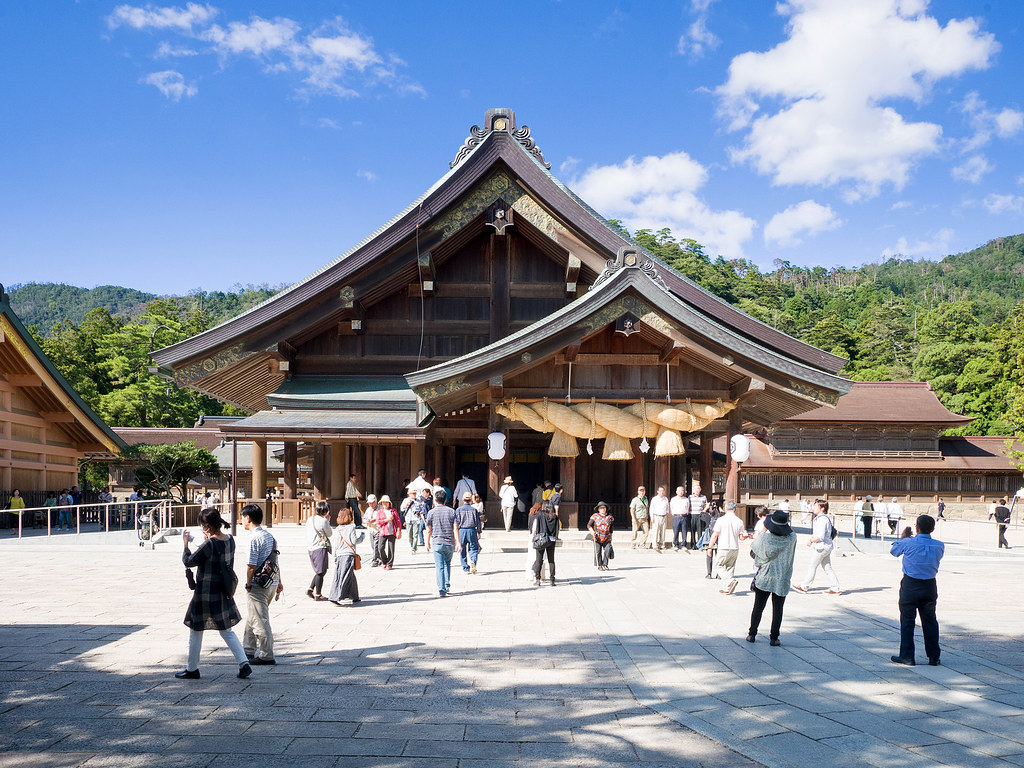 出雲大社 拝殿 Izumo Taisha Haiden
