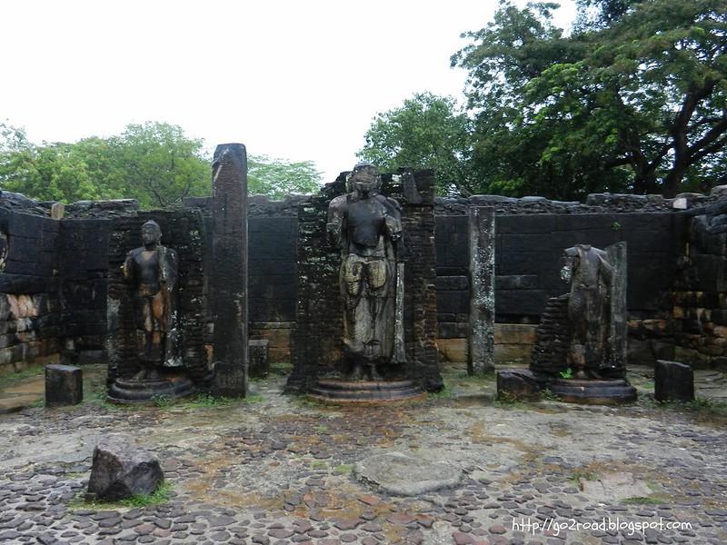Полуннарува - одна из бывших столиц Цейлона