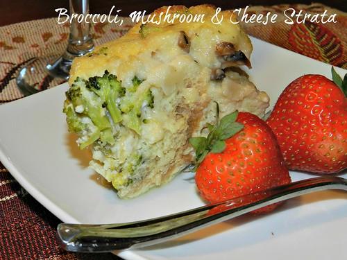 Broccoli Mushroom Cheese Strata #SS (4)